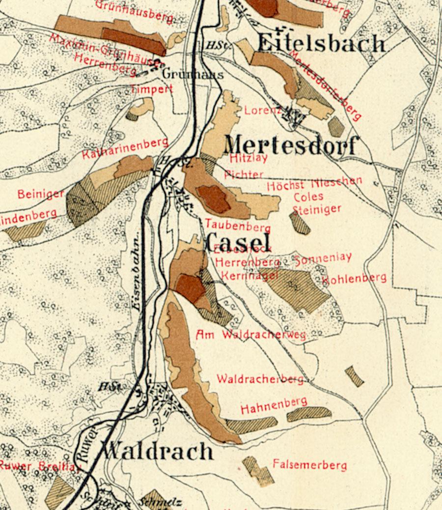 Trier Karte Umgebung.Kaseler Timpert Riesling De