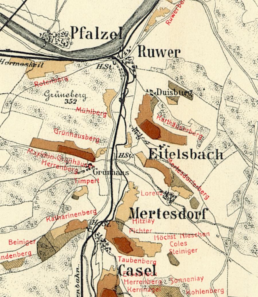 Trier Karte Umgebung.Eitelsbacher Marienholz Riesling De
